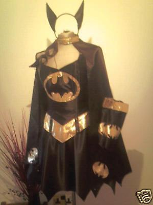 SUPER BATGirl  the delux CORSET costume for man,woman, including  - Super Deluxe Batgirl Kostüm