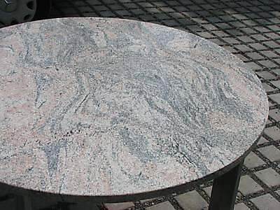 tischplatte natursteinplatte mit nautilus ammonit orthoceras massiv in kalkstein ebay. Black Bedroom Furniture Sets. Home Design Ideas