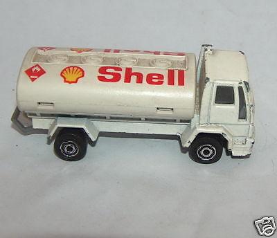 Majorette Ford Shell Petrol Tanker Truck Diecast Toy