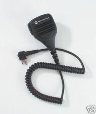 PMMN4013A PMMN4013 Motorola Remote Speaker Microphone w/ Coil Cord and Clip