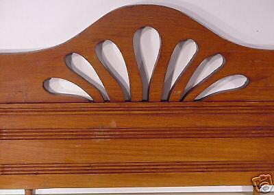 Jugenstil  Arts & Crafts Hand Carved Wood Crown Topper Mantel Molding Antiques 2