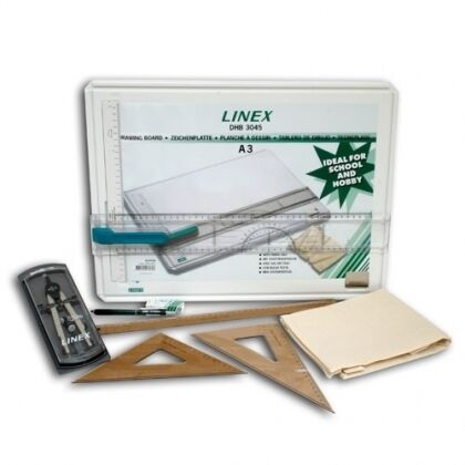 Linex A3 Drawing Board - Student Saver Bundle -RRP £80+